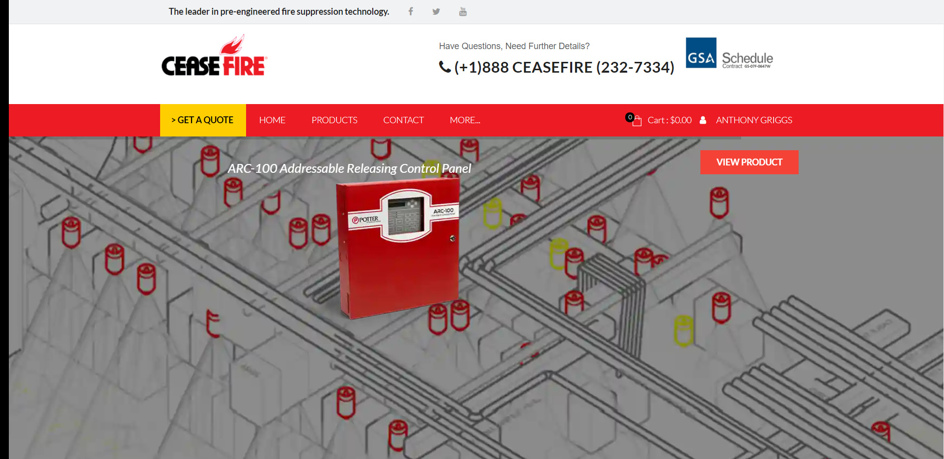 How to Download CAD Models and BIM Data for Ceasefire Fire Suppression Products